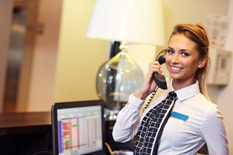 Hotel Call Centre Employee