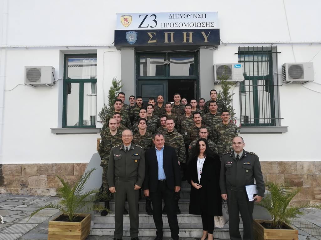 Συνεργασία της GlobalCert με το Στρατό (ΣΠΗΥ)